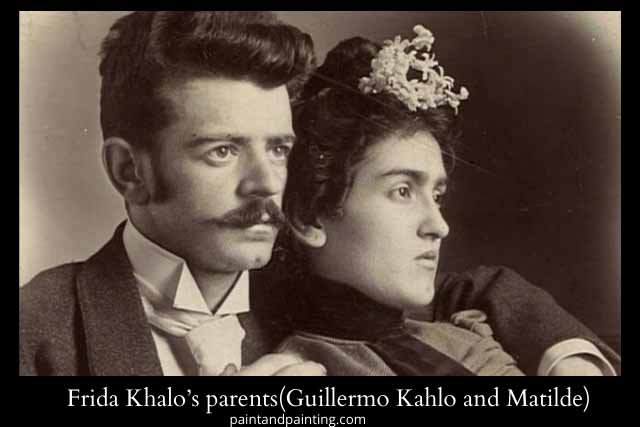 Frida Khalo's parents,Guillermo Khalo and Matilde