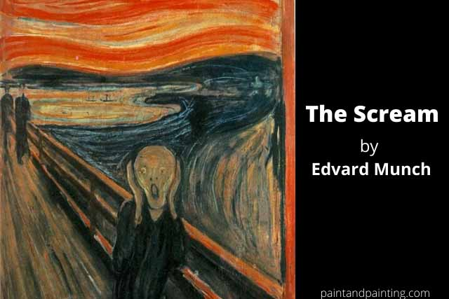 The Scream,famous painting- painted by Edvard Munch in 1893