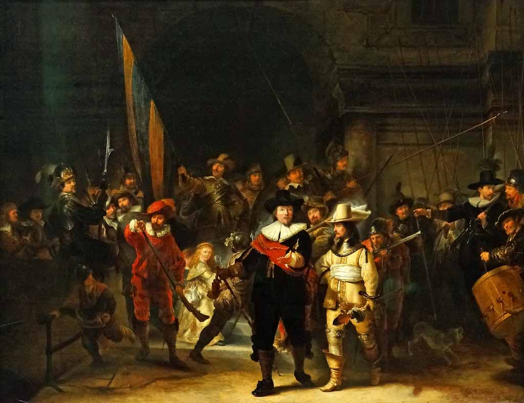 The Night Watch,Famous painting