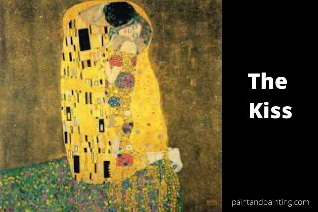 The kiss-famous painting in Art History