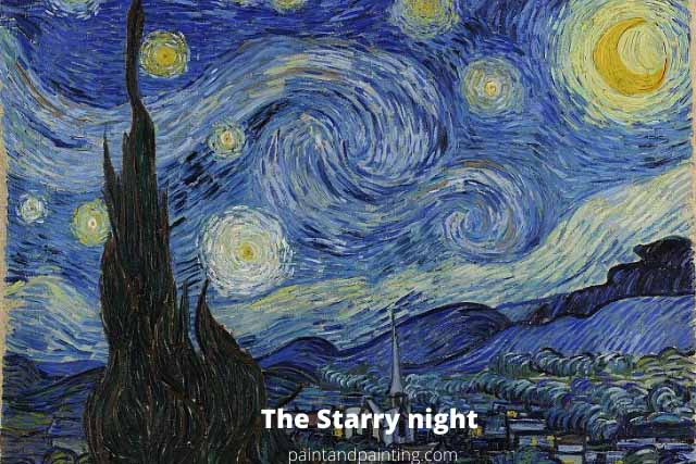 The starry Night,Famous Painting