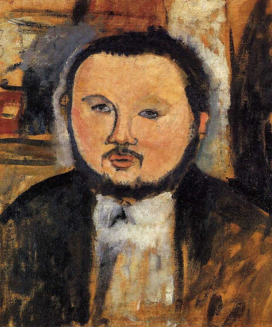 portrait-of-diego-rivera by Amedeo Modigliani